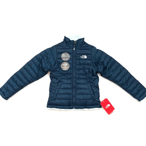 The North Face Other - 🆕 Girls NorthFace Reversible Mossbud Swirl Jacket